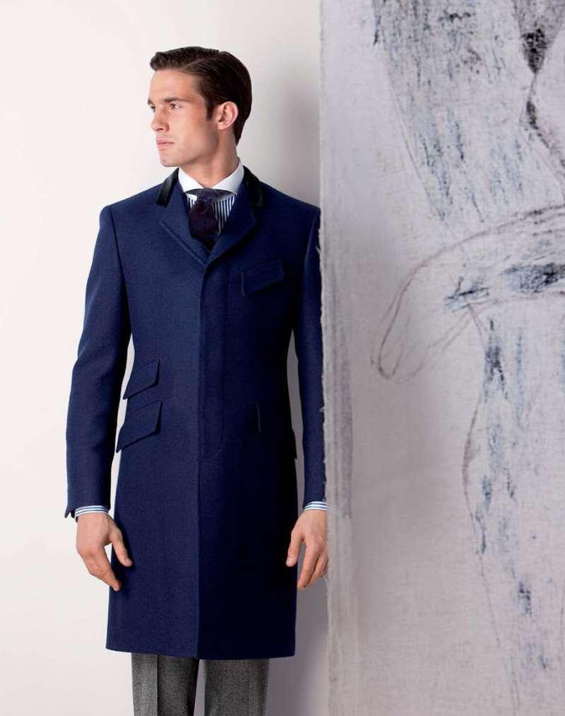 Хорошо сидящее пальто Честерфилд - один из самых элегантных предметов гардероба в мужской моде