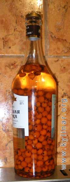 Настойка на аронии на водке